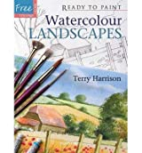 [ [ Watercolour Landscapes [With Six Reusable Tracings] ] ] By Harrison, Terry ( Author ) Apr - 2008 [ Paperback ]