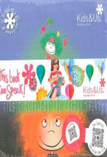 Libro Infantil en Inglés de Kids&Us para Niños de 5 a 7 años - Gina Ginger and the Colour Fairy
