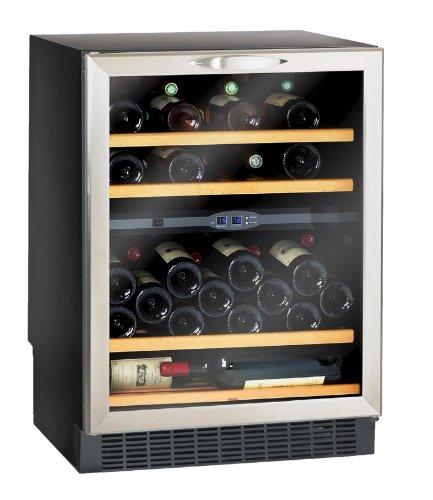 Climadiff CV52IXDZ Cave à vin de service Intégrable 50 Bouteilles Classe: C Noir