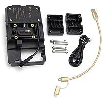 KKmoon Staffa di Navigazione per Telefono Cellulare per Moto, Accessori Supporti per Telefono con Adatto per R1200GS LC…