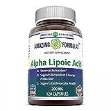 Amazing Nutrition Alpha Lipoic Acid - 200mg, 120 Capsules - Universal Antioxidant -Supports Cardiovascular Health