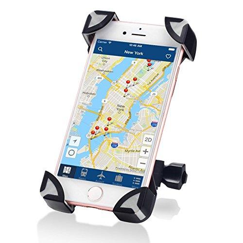 Preisvergleich Produktbild FLY Bike Phone Holder Mount, Universal Einstellbare Fahrrad iPhone Mount Einstellbare Eagle Claw Cradle Clamp für Passt für 3,5 bis 7 Zoll GPS iPhone Samsung und andere Smart Devices
