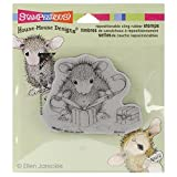 Unbekannt Stampendous Gummi House Maus Selbst Stempel 3,5x 4-Zoll, Geschenke, mit