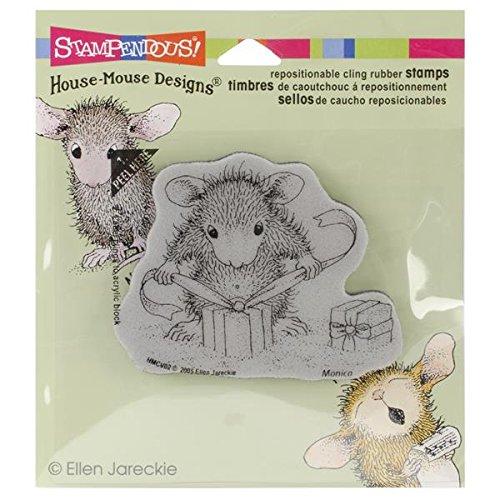 Unbekannt Stampendous Gummi House Maus selbst Stempel 3,5x 4-Zoll, Geschenke, mit - Stampendous Cling