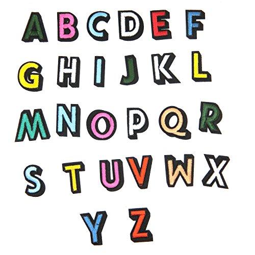 TANGGER Parches Termoadhesivos 26Pcs letra alfabeto