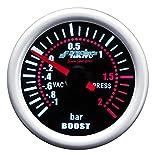 Simoni Racing BV/A Indicatore Pressione Turbo, Grigio