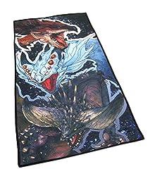 Monster Hunter World Handtuch - Rathalos, Nergikante und Xenojiva * 70x35cm offiziell lizensiert