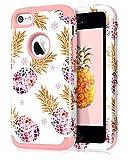 Dailylux Coque iPhone 5C,5C Coque Housse Marbre Pattern Protection Anti-Choc...