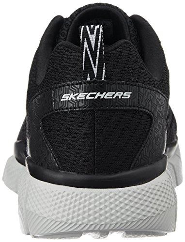 Skechers - Equalizer 2.0-settle The Scor, Scarpe da ginnastica Uomo Nero (Bkgy)