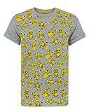 Pokèmon Pikachu All Over Print Boy's T-Shirt (3-4 Years)