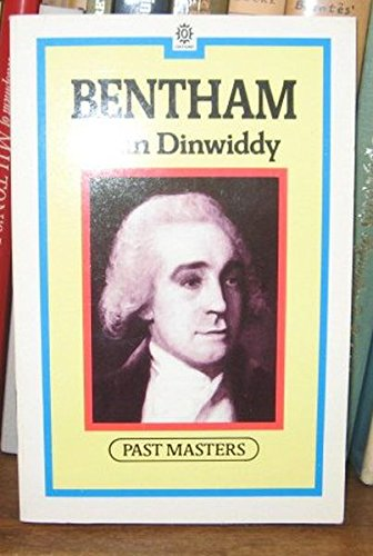 Bentham (Past Masters Series) por J. R. Dinwiddy