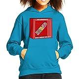 Back To The Future Hoverboard Break In 2015 Kid's Hooded Sweatshirt