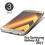 Aribest Samsung Galaxy A3 2017 Panzerglasfolie - 3 Stück, Panzerglas Schutzfolie Für Samsung Galaxy A3 2017,Ultra-klar 9H Härte, HD Klar, Anti-Öl, Anti-Kratzen, Anti-Bläschen, 3D Touch Kompatibel