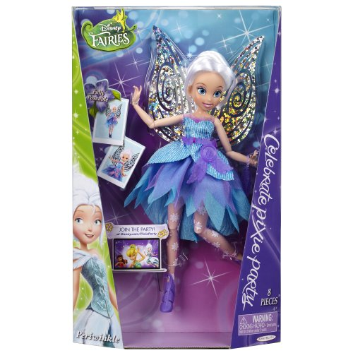 Disney Fairies Deluxe Fashion Doll Pixie Chic Pixie Partito Pervinca