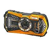 Ricoh WG-30 Wi-Fi Tough Waterproof Camera - Flame Orange (16MP)