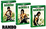 Dvd RAMBO La Trilogia 1-2-3 (3 DVD) Edizione Italiana