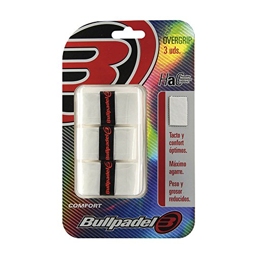 BullPadel GB1200 - Pack de 3 overgrips