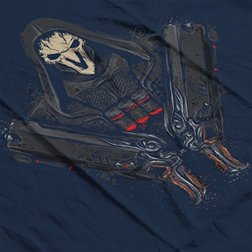 Overwatch Reaper Death Comes Women's Vest Navy blue