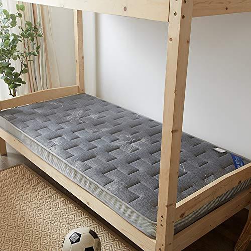 KE & LE Japaner Futonbett Tatamimatte, Anti-bakterielle Ausgestattet Atmungsaktive Allergiker Schlafen Pad Premium Memory-Schaum Topper-c 120x200x6cm (Strand, Roll-up Mat)