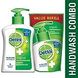 #2: Dettol Original Liquid Handwash - 200 ml with Free Liquid Handwash - 175 ml (Any Variant)