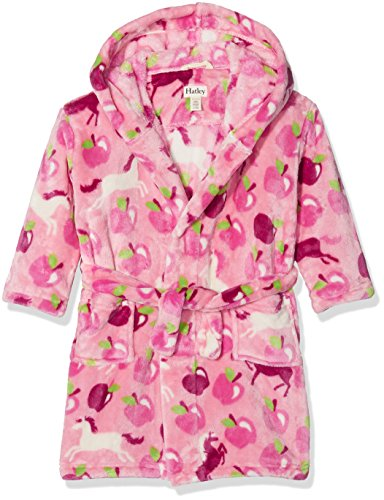 mantel Fuzzy Fleece Robes, Pink (Pony Orchard), Small (Fleece Pjs Für Kinder)