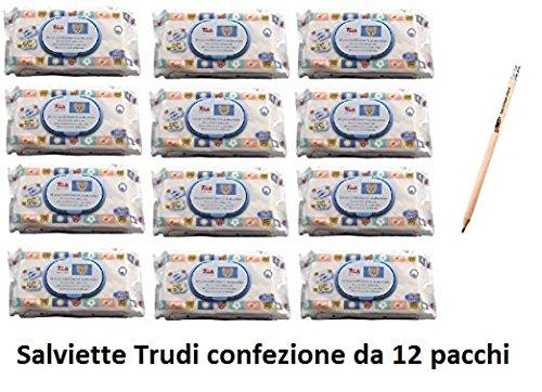 IRPot - eBOX 864 SALVIETTINE TRUDI BABY CARE 12 CONF.
