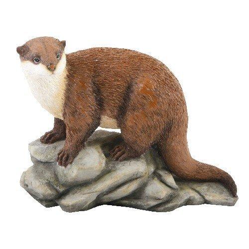 Verniciato Marrone Lontra ornamento - Otter Ornamento