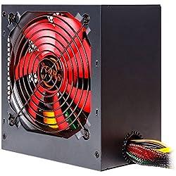 Mars Gaming MPII550 - Fuente de alimentación PC, 550W, 12V, PFC Activo, ATX