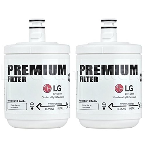 2 x LG filtros de aqua tipo 5231JA2002A - 5231JA2002A-S - LG LT500P