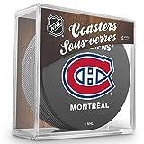 Sher-Wood Montreal Canadiens NHL Eishockey Puck Untersetzer (4er Set)