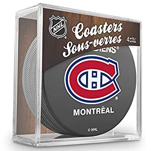 Sher-Wood Montreal Canadiens NHL Eishockey Puck Untersetzer (4er Set)