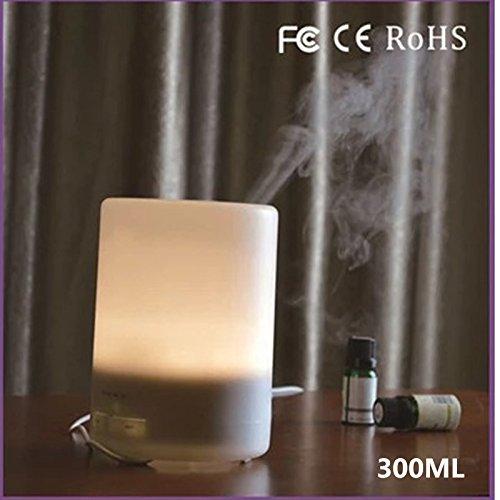 lonong aromatherapie Maschine luftbefeuchter, aromatherapie Lampe ätherische öl Lampe Plug - in - aromatherapie ofen Schlafzimmer zu Hause stumm Auto 7 geführt,Monochromatic 300ml