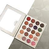 20 Farbe Schimmern Matte Lidschatten-palette, ROMANTIC BEAR Professionelle Wasserdicht Warme Natürliche Farben Schminkpalette Mit Schminkspiegel