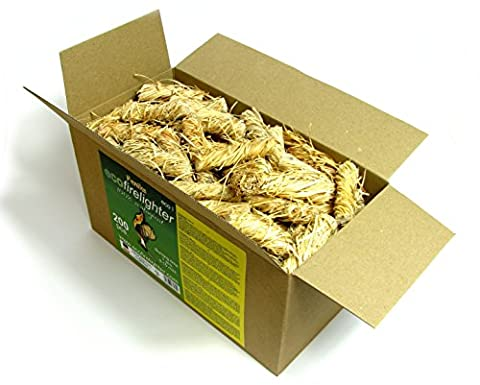 Feniks Firelighters 200pcs. in the box, For Fireplace, Stoves, Barbecues and Campfires