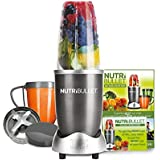 NUTRiBULLET 600 Series - Nutrient Extractor High Speed Blender - 600W 8 Piece Set - Graphite