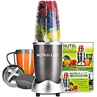 NUTRiBULLET 600 Series - Nutrient Extractor High Speed Blender - 600W 8 Piece Set - Graphite