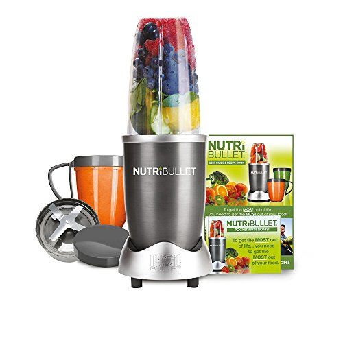 NutriBullet 600 Series Set, 0.68 Litre, 600 W, 8-Piece, Graphite