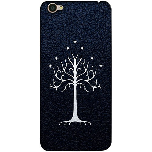 Casotec Magic Tree Pattern Design 3D Printed Hard Back Case Cover for Vivo Y55L