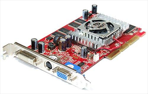 Palit NA-55000+TD16-FM8336 Nvidia GeForce FX5500 128MB TV-Out DVI AGP Video Card (Zertifiziert und Generalüberholt) (Agp Fx5500)