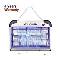 Disparador de insectos eléctrico/repelente de plagas, más fuerte para interiores, 2800 voltios, lámpara UV que mata moscas, mosquitos, repelente de moscas, atrapa atrapasueños, atrapa moscas, mosquitos