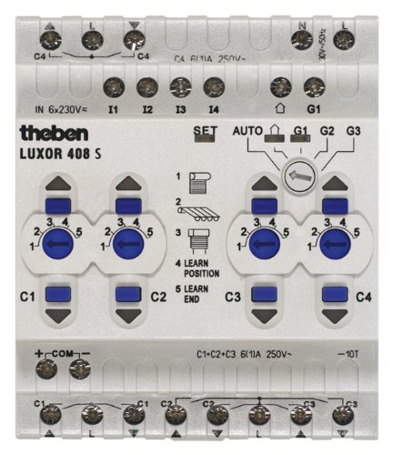 Theben 4080100 LUXOR 408 S