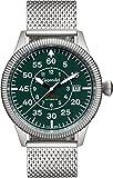 Gigandet Red Baron I Montre Aviateur Homme Automatique Analogique Argent Vert G8-010