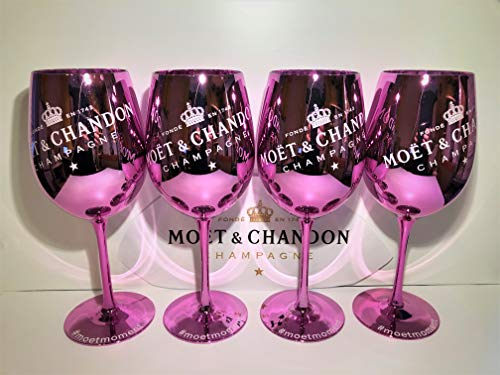 Moet Chandon PINK Ice Imperial Champagner Limited Ibiza Edition (PINK) 4Stück (4pcs.)