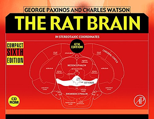 The Rat Brain in Stereotaxic Coordinates: Compact por George Paxinos AO (BA  MA  PhD  DSc)  NHMRC Dr.