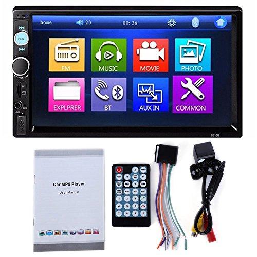 XZANTE 7010B-Board-Video-Player DVD-7-Zoll-LCD-Touch Screen Bluetooth FM Radio-MP5 mit 720P Kamera Touch-screen-bluetooth
