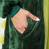 Katara 1744 - Krokodil Kostüm-Anzug Onesie/Jumpsuit Einteiler Body für Erwachsene Damen Herren als Pyjama oder Schlafanzug Unisex - viele verschiedene Tiere -