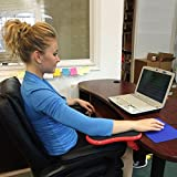 #9: Premium Adjustable Computer Wrist Rest Armrest - Desk and Chair Dual Purpose Attachable Home&Office Computer Arm Support - Ergonomically Designed Mouse Pad Arm-stand Desk Extender (Adjustable Arm & Wrist Support Mouse Pad)