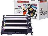 Premium 4 Toner SET Kompatibel zu Samsung CLT-406S - CLP 360 , CLP360 N , CLP-360ND ,