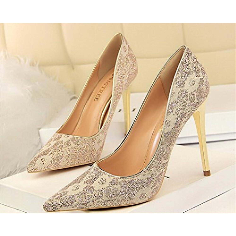 LUCKY LUCKY LUCKY CLOVER-A Talons Hauts  s Femmes Haut Talon Classique Blink Stiletto Heel Chaussures Multicolore Fille... - B07F298SYN - b110d7