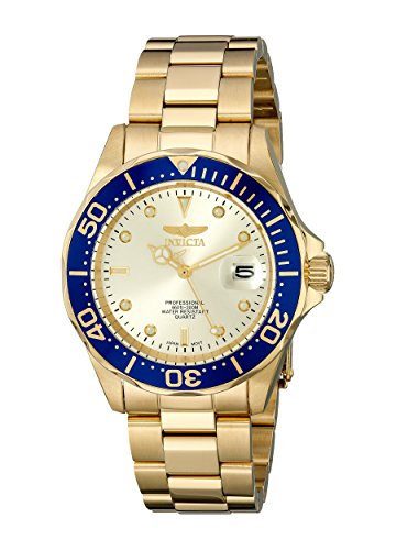 51Th7Dfz5NL - Invicta Pro Diver Gold Mens 14124
